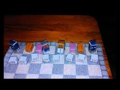 Kailash Moore   Minecraft Chess Set 12 2015
