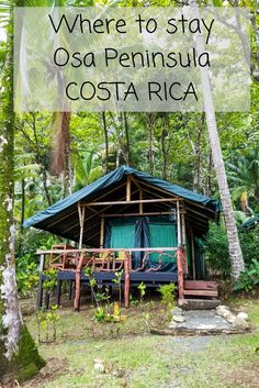 Visiting the Osa Peninsula in Costa Rica? Here is our guide to deciding where in the Osa to stay with information about the towns, villages and hotel recommendations. http://mytanfeet.com/costa-rica-travel-tips/where-to-stay-in-osa-peninsula/