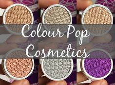 Pretty Pearls: Review | Colour Pop Cosmetics THE most gorgeous shimmer shadows for $5!!