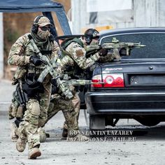 Spetsnaz MVD SOBR Lynx operators looking badass during a shooting competition…