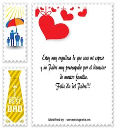 dedicatorias para el dia del Padre,descargar frases bonitas para el dia del Padre: http://www.consejosgratis.es/increibles-mensajes-por-el-dia-del-padre-a-mi-esposo/