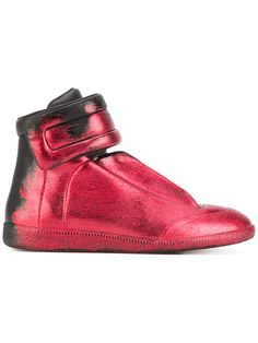 MAISON MARTIN MARGIELA Glitter Gradient Sneakers. #maisonmartinmargiela #shoes #sneakers