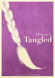 Tangled by Mario Aragon. One of my favorite Disney movies ever. <3<3<3