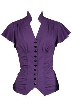Amy Purple Blouse by Chicstar