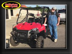 Thanks to Kenneth Crawford from Kentwood LA for getting a 2017 Polaris Ranger 570 at Hattiesburg Cycles #Polaris