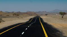 Saudi Arabia   Road to Tabouk. view on Fb https://www.facebook.com/pages/Sinbads-Saudi-Pocket-Guide/184376818345643 credit: Lehva
