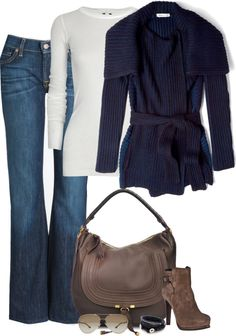 """""""Fall is for Cardigans"""" by partywithgatsby on Polyvore"""