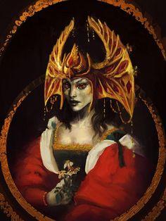 Барензия,TES Персонажи,The Elder Scrolls,фэндомы,korkuguvin,Skyrim,TES art