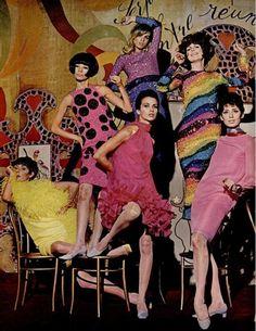 1960 style 舞會女孩