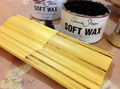 annie sloan chalk paint english yellow (with and without dark wax) from the empt… Annie Sloan Kreidefarbe Englisch Gelb (mit und ohne dunklem Wachs) aus dem leeren nächsten