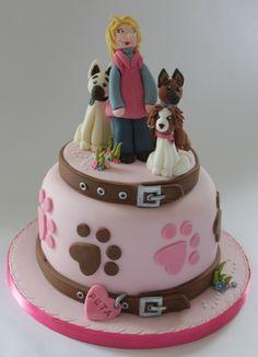 25 Best Dog Cake Images Bakken Dog Cake Topper Cookies