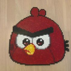 Angry Birds perler beads by m.barkani