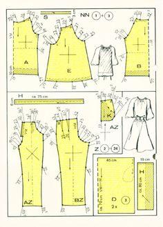 Lutterloh 0150 autumn 1978(2)  Lutterloh, vintage patterns, pattern drafting, diy patterns, sewing, patterns, womens patterns, custom size patterns