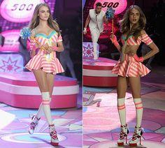 Victoria's Secret Fashion Show 2012: Cara Delevingne