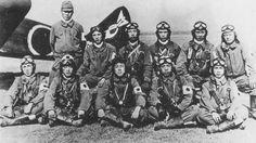第76振武隊。昭和20年4月28日、5月11日に知覧基地から97式戦闘機で特攻出撃した。 #special_attack #tokkō #kamikaze