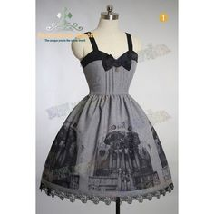 "Gothic Lolita, ""Baroque Pipe Organ"" JSK/Dress*3color Instant... ❤ liked on Polyvore"