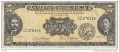 Five pesos Philippines Currency