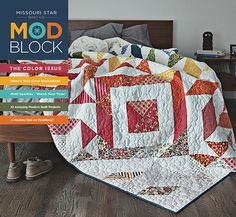 BLOCK magazine from Missouri Star Quilt Co. You're going to love it!