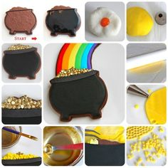 Pot of Gold Cookie How-To