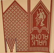 Ingridstua: Votter til fotballsupportere i familien Knitting Charts, Knitting Patterns Free, Free Pattern, Knitted Mittens Pattern, Knit Mittens, Hairpin Lace, Liverpool, Bohemian Rug, Diy And Crafts