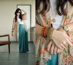 kimono - love this look.