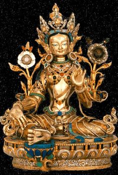 Green Tara, the Mother of all Buddhas.