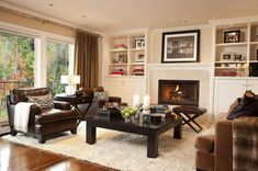 60-30-10 rule red, white and black living room - Yahoo Image Search Results