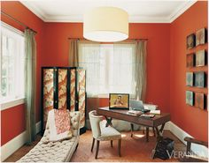 """Bold Color. One very close to our house """"International orange,"""" it seems!"""