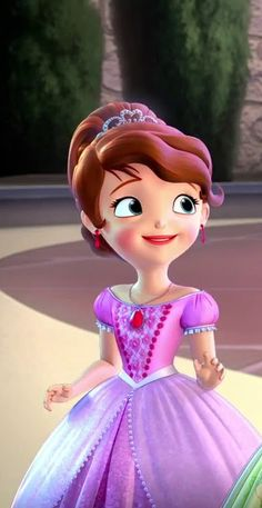 Sofia The First Songs, Sofia The First Cartoon, Sofia The First Characters, Princess Sofia Dress, Princess Sofia The First, Disney Princess Frozen, Disney Princess Drawings, Princess Charm School, Sisters Drawing