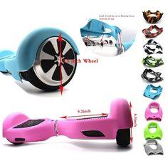 """Hoverboard 6.5 inch shell meliputi luar 2 roda berdiri listrik skuter silikon kasus 6.5 """"el ctri diri balancing skuter lengan"""