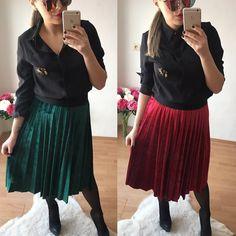 Nadčasové plisované sukňe v smaragdovo zelenej a vínovo červenej farbe  veľ.uni (sukňa má v páse gumu je prispôsobiteľná ) v akciovej cene 1790 Objednaj si ju v directe na fb alebo priamo na http://ift.tt/2iRPBpn do 24hod.