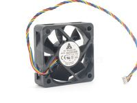 Free Shipping Delta AUC0512DB 5015 12V 0.27A 4Wire server inverter Cooling Fan