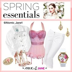 """""""Pink Spring Thing"""" #atomicjane @Atomic_Jane1  http://atomicjaneclothing.com"""