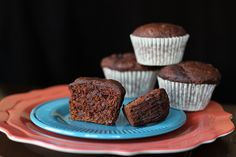 Double Chocolate Pumpkin Muffins, Muffin of the Week #12 - these muffins were fantastic. Our kids loved them and they were so easy to make! Definitely will make these again.