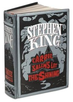"""Stephen King: Three Novels (Barnes & Noble Leatherbound Classics Series) - $25.00 -- maybe . . . I'm kinda back and forth on Stephen King . . . I find some of it good, and some of it is a little too creepy for my tastes. :/ I feel like these might be on the """"too creepy"""" end of the spectrum"""