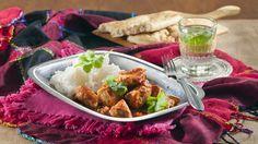 Butter chicken eli intialainen voikana - K-ruoka Paleo Recipes, Asian Recipes, Ethnic Recipes, Paleo Food, Baking Party, Butter Chicken, Garam Masala, Chicken Wings, Chili