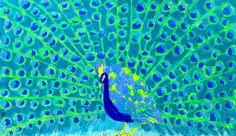 Walasse Ting, Peacock II.