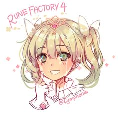 Rune Factory 4 Rune Factory 4, Harvest Moon, Cute Characters, Fire Emblem, Runes, Animal Crossing, Good Music, Otaku, Nintendo