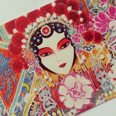 Chinese postcard