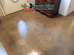 Stained Concrete Overlay by Texoma Concrete Effects, Wichita Falls, TX