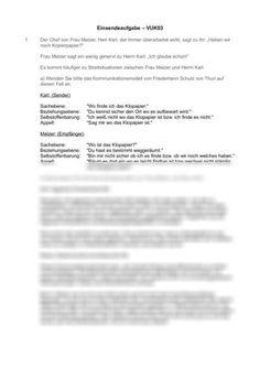 Lösungen zu Einsendeaufgaben VUK03: Grundsätze der Gesprächsführung -  Einsendeaufgabe  ILS/SGD BWL / Betriebswirtschaftslehre Personalized Items, Frases, High School Graduation, Authors, Faith