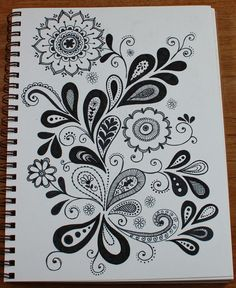 Doodles or not, this is beautiful!