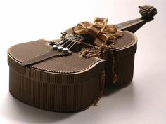 chocolate violin, Wow, PD #chocolates #sweet #yummy #delicious #food #chocolaterecipes #choco #chocolate