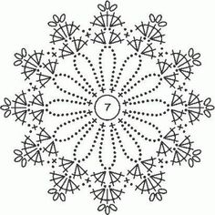 Knitting Patterns Christmas Crochet picture result for stars free Crochet Diagram, Crochet Chart, Crochet Motif, Irish Crochet, Crochet Doilies, Crochet Flowers, Crochet Snowflake Pattern, Crochet Snowflakes, Crochet Stitches Patterns