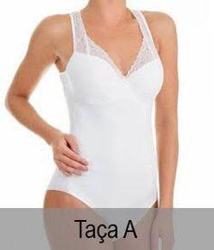 7c484a49e Body Sensual com Renda Liz Collections - Body 820 (53820) Taça A