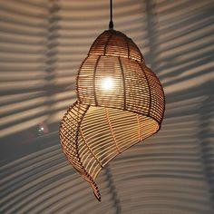 Bamboo Pendant Light, Bamboo Light, Bamboo Lamp, Cheap Pendant Lights, Balcony Lighting, Home Lighting, Exterior Lighting, Lighting Ideas, Track Lighting