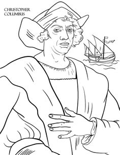 printable costa rica flag coloring page. free pdf download at http ... - Christopher Columbus Coloring Page