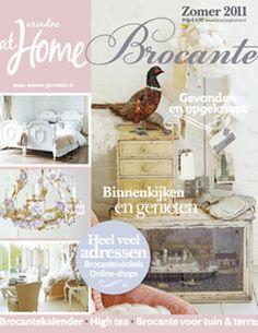 Brocante special zomer 2011. #magazine #cover #brocante #shabby