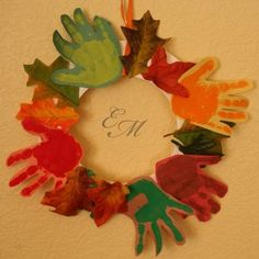 Fall Handprint Crafts round up