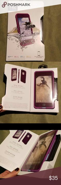 Lifeproof Fre Case IPhone 6plus/6s plus- Purple Lifeproof Waterproof case iPhone 6 Plus/ 6s Plus, purple  Brand new Never used  100% Authentic LifeProof Accessories Phone Cases